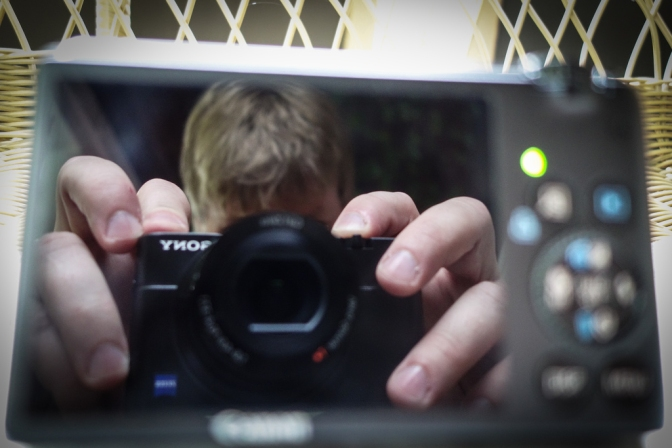 RX100 Selfie