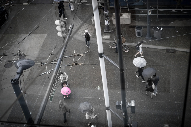 Robson Street, Downtown Vancouver (Sony A7)