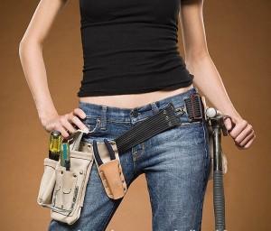woman-do-it-yourself-tool-belt